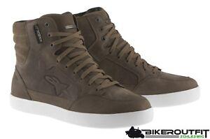 Alpinestars-Moto-Chaussure-j-6-Court-Bottes-j6-etanche-Sneaker-Marron-Taille-45