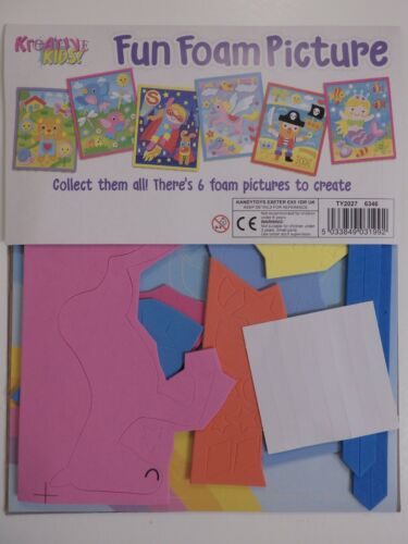 Make Your Own Fun Foam Picture Kreative Kids Choice of 4