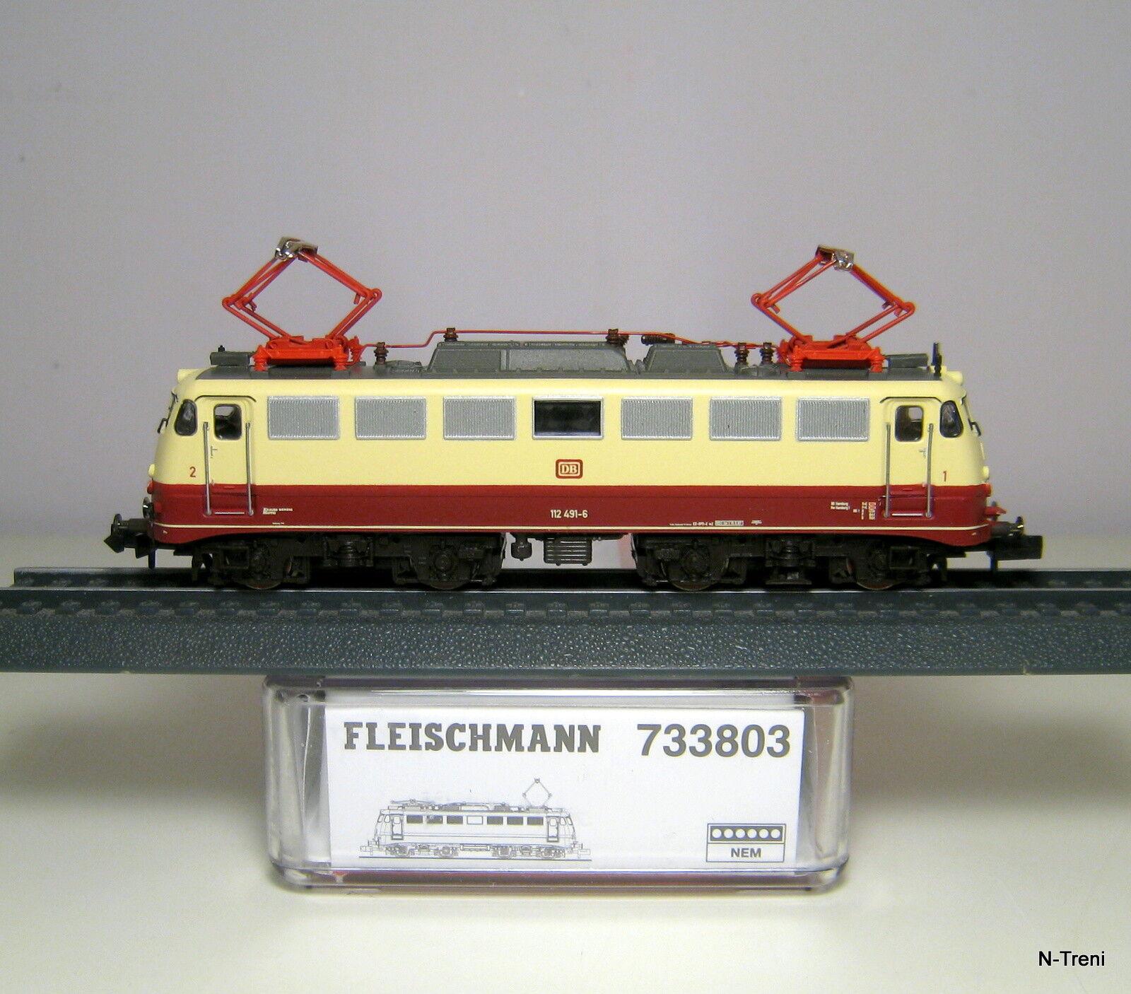 Fleischmann N 733803 K - Loco elettrica BR  in livrea TEE delle DB. Epoca IV