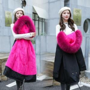 Women-winter-coat-Down-jacket-Ladies-fur-hooded-jackets-Long-puffer-parka-S-6XL