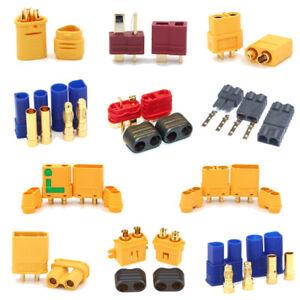 Amass-Deans-TRX-XT60-XT90-XT30U-EC5-Male-amp-Female-Connector-RC-Lipo-Battery-Plug