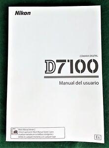Nikon-D7100-Manual-del-usuario-en-Espanol-Users-Guide-in-Spanish-2013