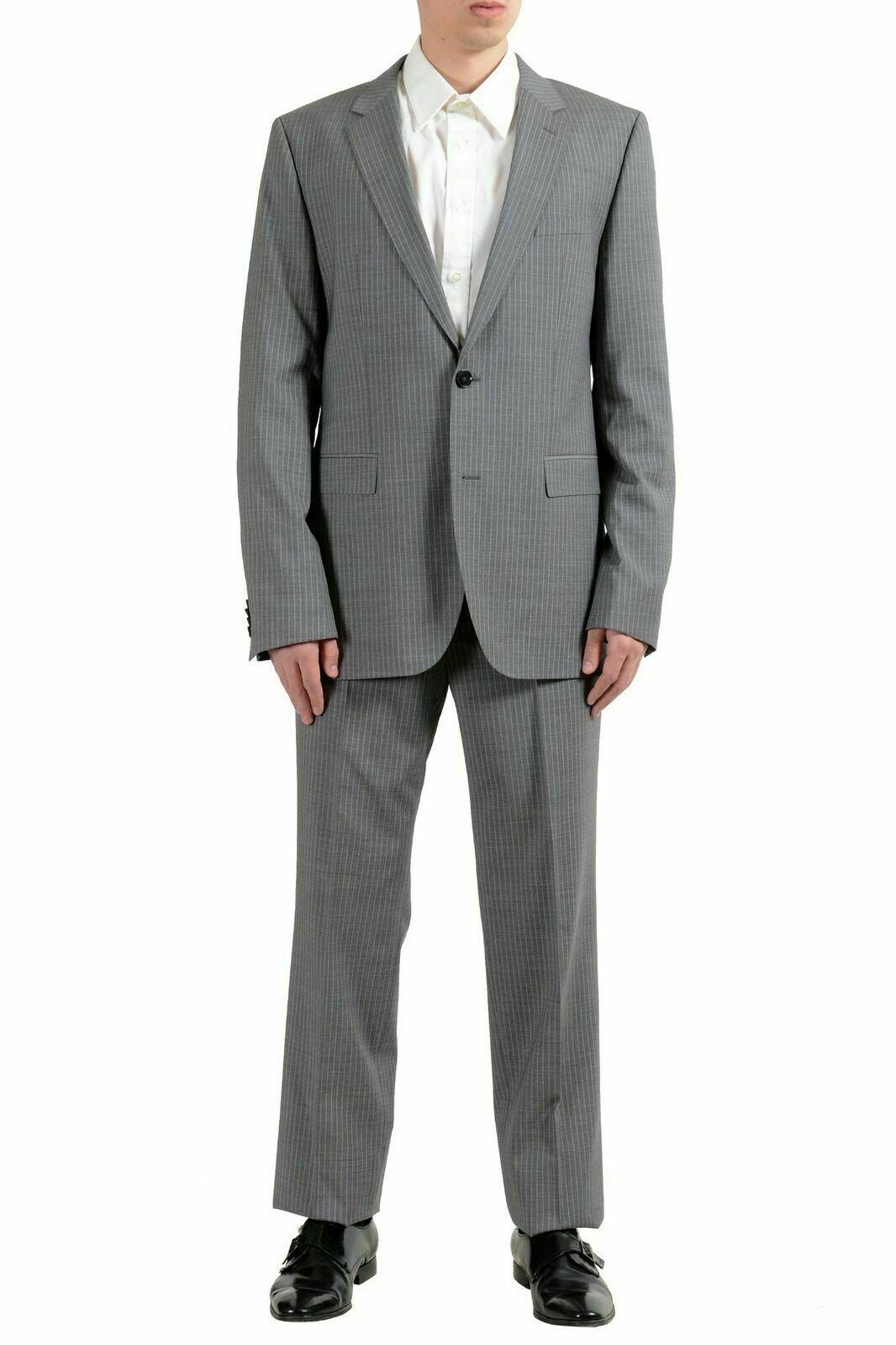 174038c067 Boss C-Simmons Men s 100% Wool Two Button Suit US 42L IT 52L Hugo C ...