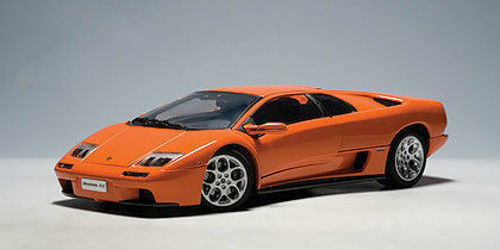 1 18 Autoart Lamborghini Diablo Vt 6 0 Orange Is For Sale Online Ebay