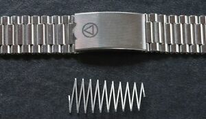 NSA-watch-bracelet-clasp-spring-only-large-size-rare-part-NSA-band-Swiss-59-sold