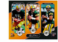 Aaron Rodgers Brett Favre Bart Starr Authentic 8x10 Photo Green Bay Packers Nfl