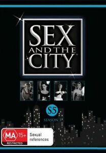 Sex-And-The-City-Season-5-DVD-2-Disc-Set-REG-4-NEW-amp-SEALED-TZ1