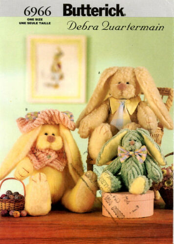 Butterick 6966 Meet the O/'Hare Family Bunnies of course!!!
