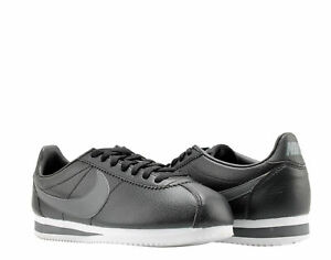 679a210b Nike Classic Cortez Leather Black/Grey-white Men's Running Shoes ...