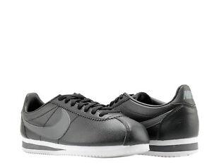 online store 4d0e4 2beb1 Image is loading Nike-Classic-Cortez-Leather-Black-Grey-white-Men-
