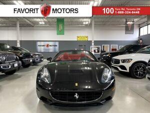 2010 Ferrari California CONVERTIBLE|CARBONCERAMIC|REDLEATHER|NAV|454HP V8|