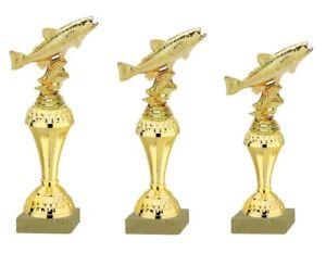 3er-Serie-Pokale-Fisch-Forelle-gold-630-FO-26-23cm-inkl-Gravur-23-95-EUR