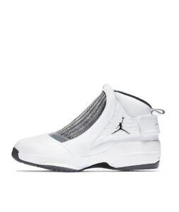 new styles 464e6 4a3e1 Details about Air Jordan 19 Retro Flint Carmelo Anthony White AQ9213-100  Size 9-13
