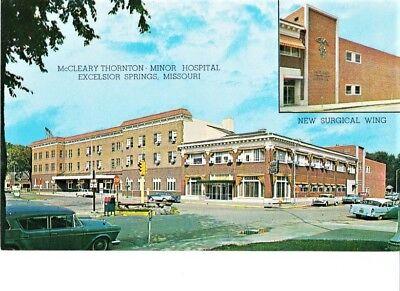 193 ELMS HOTEL VETERANS HOSPITAL 1930-45 EXCELSIOR SPRINGS