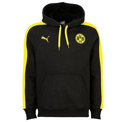 Puma BVB T7 Borussia Dortmund Hoodie Pullover Kapuzensweatshirt 2015-2016
