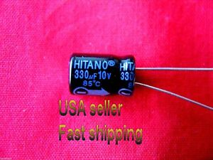 1x 33000uF 50V Large Can Electrolytic Aluminum Capacitor 33000mfd 33,000 50VDC
