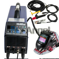 200c Tig / Mma Arc Welding Machine 110v Stainless Welder Metal Copper W/ Helmet