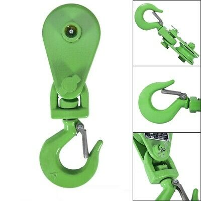 """New 2 Ton Recovery Snatch Block Rollback for 3//8/"""" Wire Rope Winch Cable Pulley"""