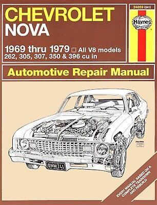 Repair Manual HAYNES 24059 fits 69-79 Chevrolet Nova