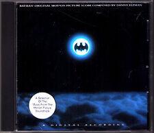 BATMAN Danny Elfman OST CD Original Score  Scandalous Prince Beautiful Dreamers