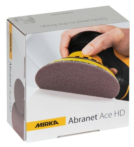 grain au choix NEUF original Mirka Abranet ACE HD 150 mm p40 p60