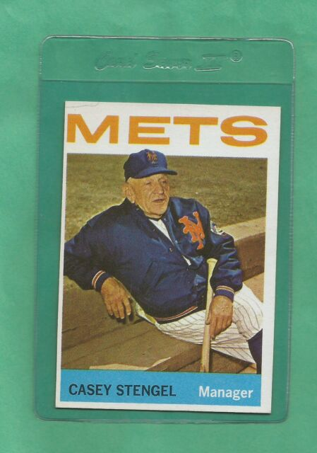 1964 Topps N.Y. Mets Casey Stengel # 324 NM-MT Tough Card !!