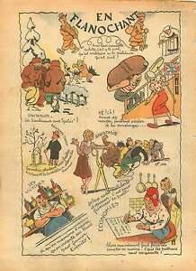 WWII-Caricature-Civil-Militaire-Bistro-Aperitif-Marianne-Ours-1940-ILLUSTRATION