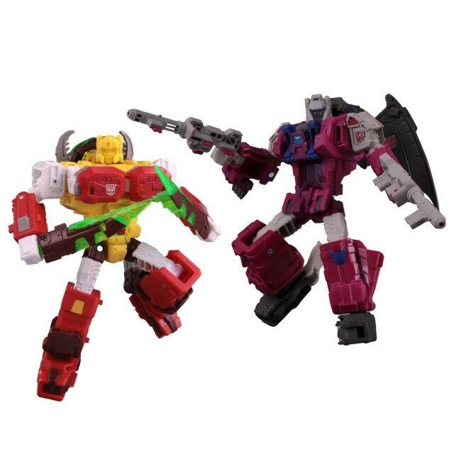 Transformers Legends Series - LG-EX Gredusque & Repugnus Exclusive Set of 2