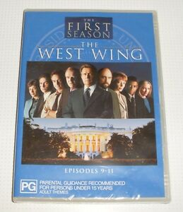 DVD-The-West-Wing-Season-One-Episodes-9-11-New-and-Sealed-REDUCED