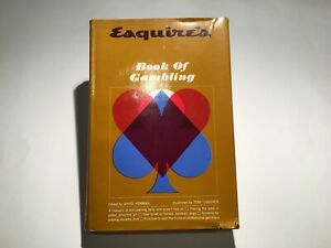 Esquire-039-s-Book-of-Gambling-by-David-Newman-First-Edition-1962