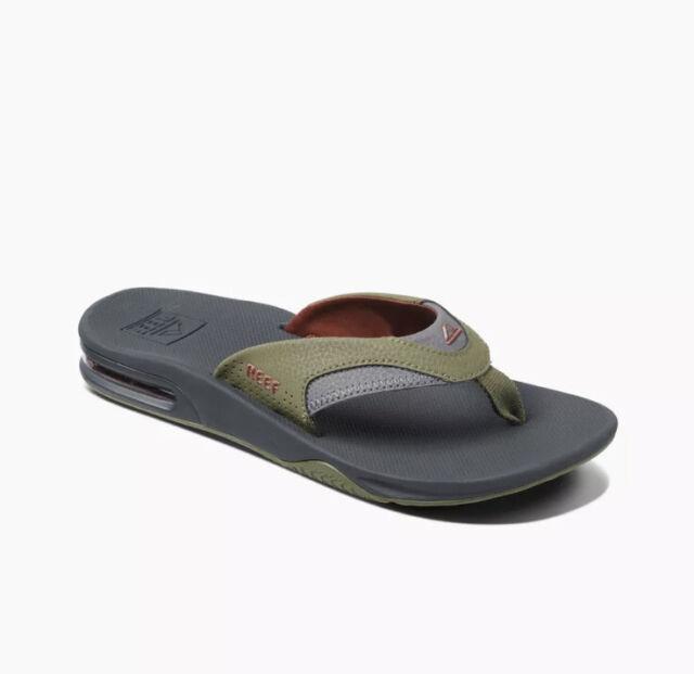 Reef Mens Fanning Olive/Rust Sandals