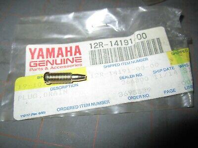YAMAHA CARBURETOR DRAIN SCREW 12R-14191-00,BANSHEE,BLASTER,RAPTOR,BREEZE,VMAX