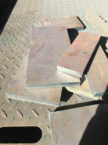 """3//4/"""" X 4 X 8 Steel Flat Bar Plate 0.75 inch THICK Welding Bench Plate A36 Sheet"""