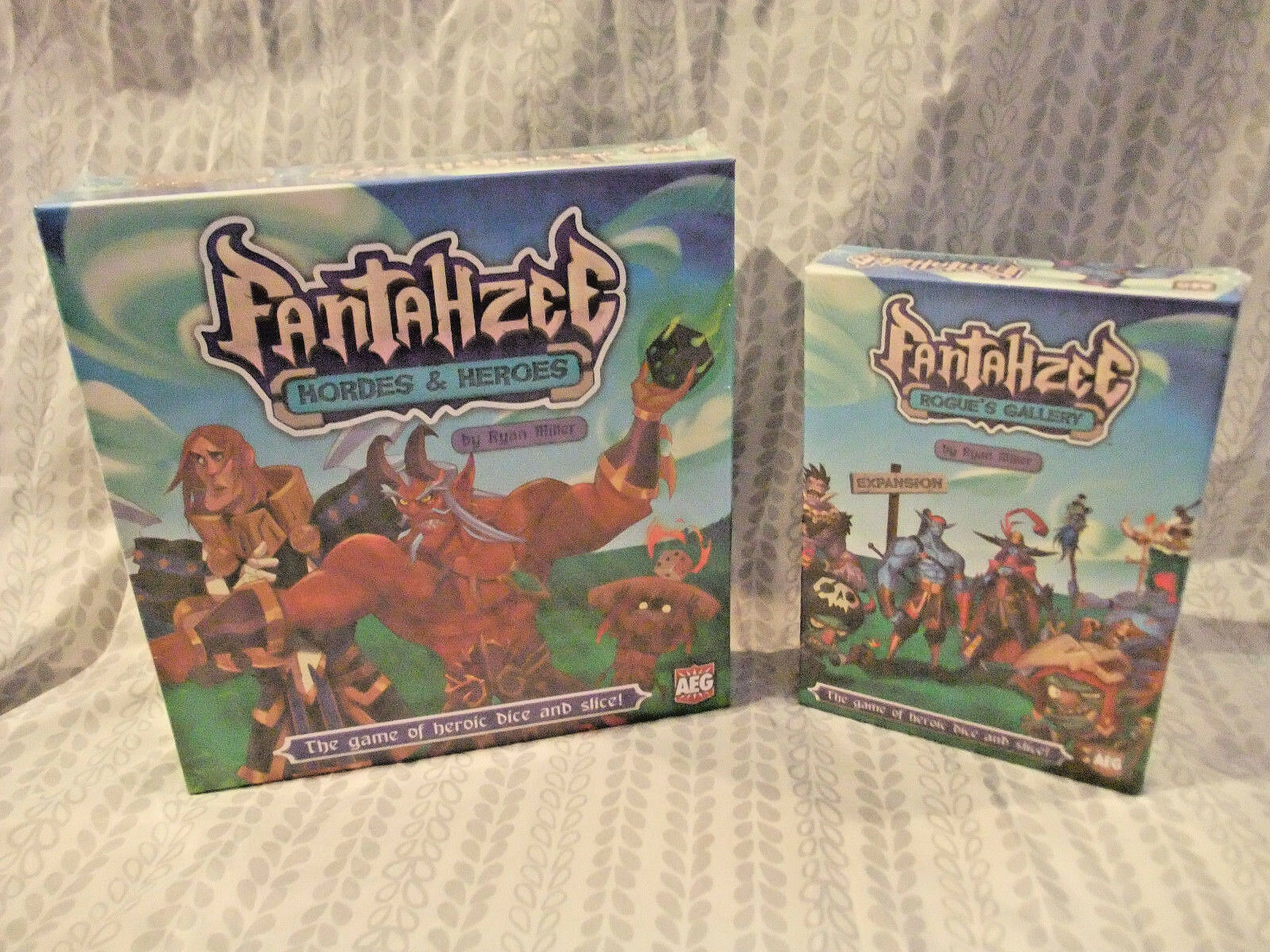 Fantahzee autod e Dice gioco  Hordes e Heroes + Rogues Gtuttiery Expansion by AEG  spedizione veloce a te