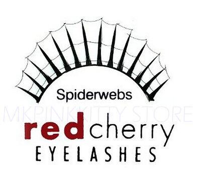 Red Cherry Lashes SPIDER WEBS False Eyelashes