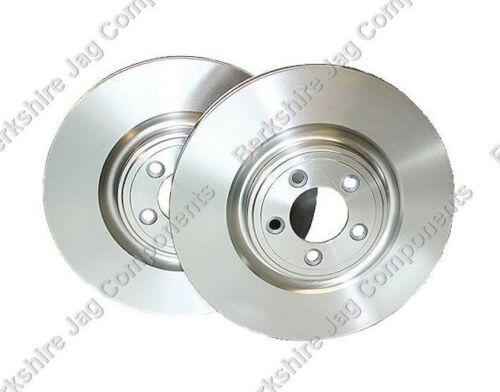 FOR JAGUAR XF FRONT BRAKE DISCS C2C25337
