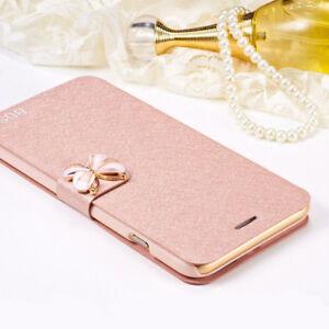 Pour-Samsung-A520-A6-A8-2018-S9-Papillon-Clapet-Etui-Portefeuille-Cuir-PU