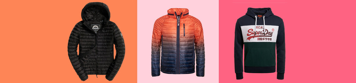 Up to 50% off Superdry