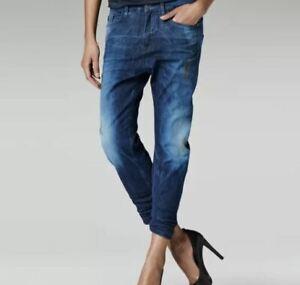 G-Star-Raw-Type-C-3d-Loose-Tapered-Jeans-Jeans-Damen-blau-Groesse-w26-l32-ref13-9