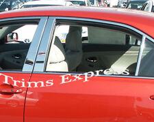 Fit:2000-2006 Nissan Sentra 6Pc Chrome Pillar Post Stainless Steel