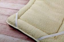 SET 3x Merino Wool Baby Product Cot bed Duvet Quilt + PILLOW+ Mattress Topper