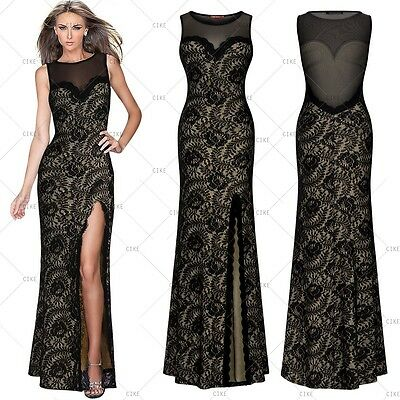 New Long Sexy Evening Party Ball Prom Gown Formal Bridesmaid Slim Cocktail Dress