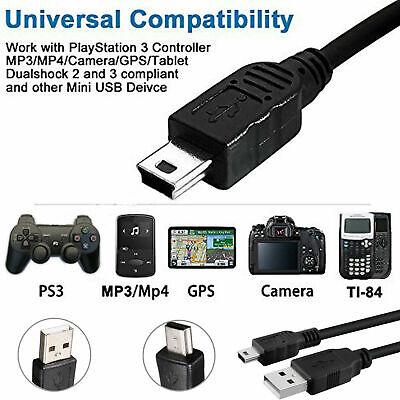 Cable de carga de cámara cable de datos USB para Samsung st1000 st550