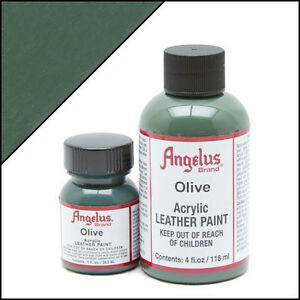 Angelus lederfarbe Olivgrün (272) 29,5 ml (20,17€/100ml) Leder Schuhfarbe