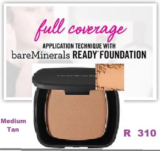 bare escentuals ready spf 20 foundation r310 medium tan ebay