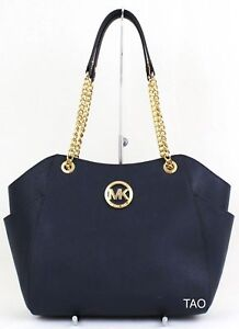outlet store b3b4a df8c8 ... Michael-Kors-Mk-Jet-Set-Voyage-Grand-Chaine-