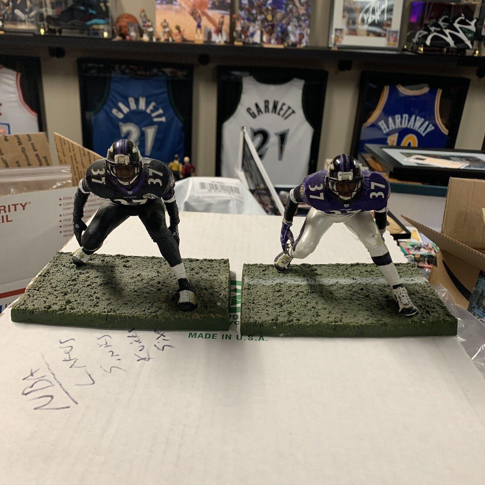 2 Mcfarlane sportivo Picks Deion Seers Ravens azione cifras Cowboys Falcons 49