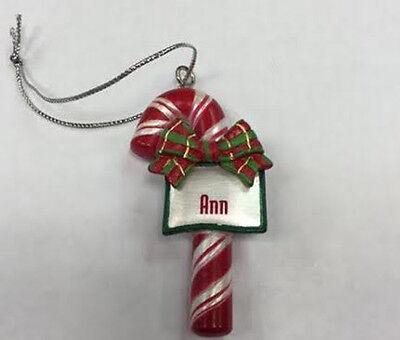 Itsy Bitsy Stocking Ornament name Elijah MINI Ganz personalized Christmas gift