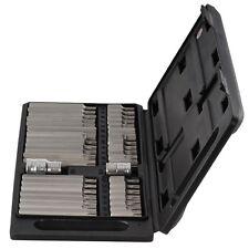 Bitsatz 40 Teilig Innen Vielzahn Torx Bitset Bitbox für Inbus Schrauben Nuss Set