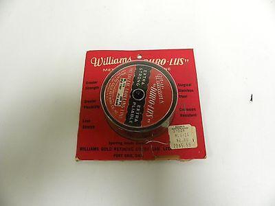 Vintage Williams Duro UGB métal métallique Pêche Trolling Line 500 ft//16 lb Essai